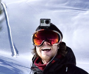 hero, snowboarder, and snowboarding image