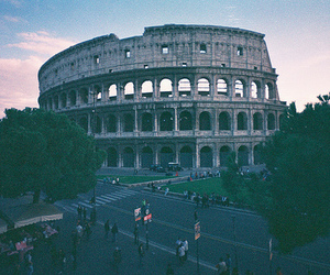Coliseum and rome image