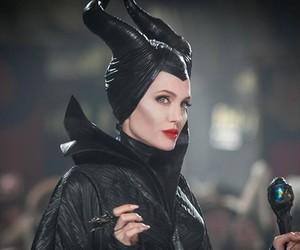 maleficent, Angelina Jolie, and angelina image