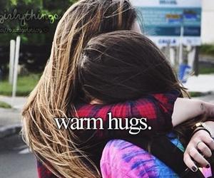hug, love, and justgirlythings image