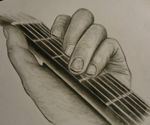 drawing and guitare image
