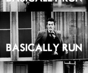 doctor who, run, and 10th doctor image