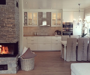 home, decor, and kitchen image