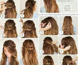 hair, hairstyles, and life image