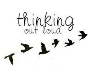 ed sheeran, thinking out loud, and song image