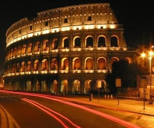Coliseum, roma, and evening image