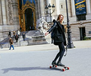 skateboarding, style, and pfw image