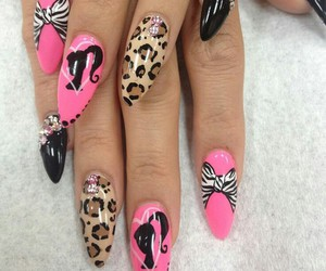 barbie and nails image