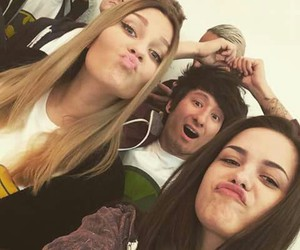 dagi bee♥, julian bam, and luna darko♥ image