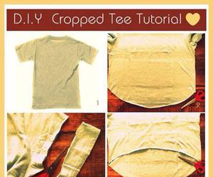diy, tutorial, and shirt image