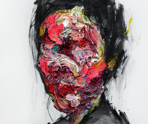 art, painting, and face image
