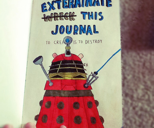 doctor who and wreck this journal image