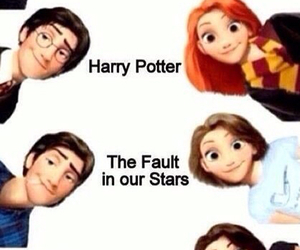 disney, potter, and fault image