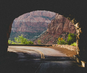 road, travel, and nature image