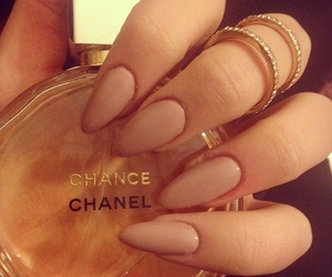 chanel, parfum, and nailsart image