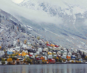 norway, winter, and house image