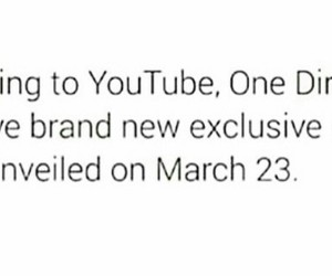 youtube and one direction image