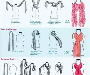 diy, scarf, and how to image