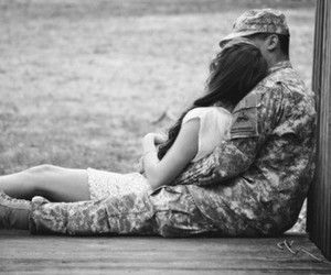 army, couple, and cute image