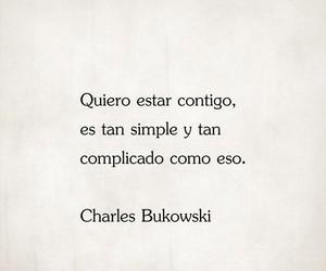 charles bukowski and love image