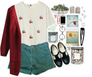 converse, girl, and Polyvore image