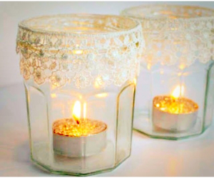candles, diy, and InteriorDesign image