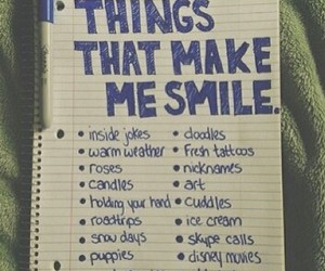 smile and things image