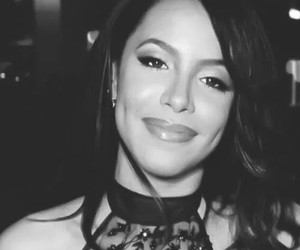 aaliyah, beautiful, and dimples image