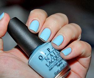 nail polish, nails, and opi image