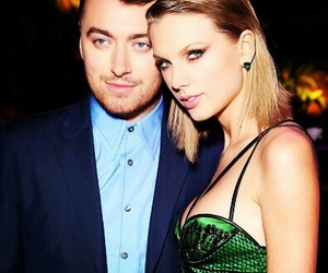 Taylor Swift and sam smith image