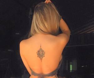 female, tatoos, and girls image