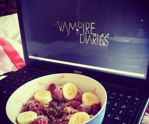 food, the vampire diaries, and tvd image