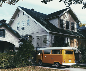 car, house, and home image