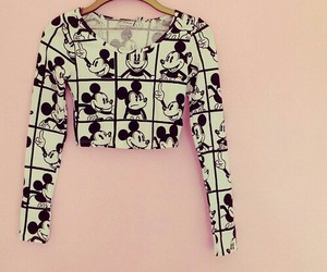 fashion, mickey, and mickey mouse image