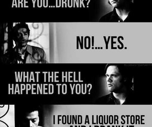 supernatural, castiel, and sam winchester image