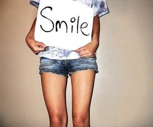 smile and girl image