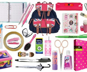 supplies, cute, and essentials image