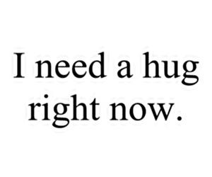 hug, quote, and need image
