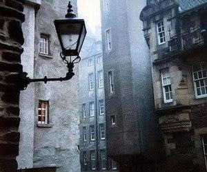 street, scotland, and city image