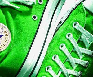 converse and green image