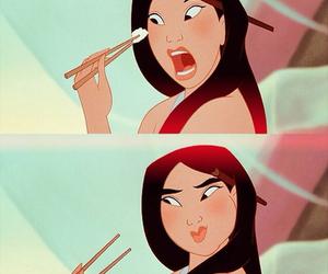 asain, cheeks, and chinese food image