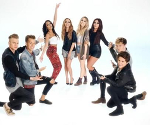 the vamps and little mix image
