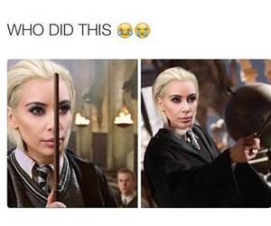funny, kim kardashian, and harry potter image