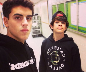 hayes grier, jack gilinsky, and magcon image
