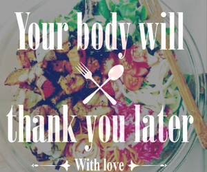 body, clean, and eat image
