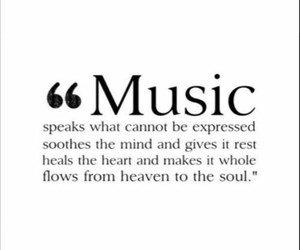 music and quote image