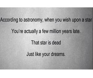 astronomy, dreams, and dead image