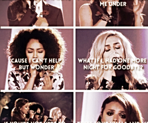 these four walls, jesy nelson, and perrie edwards image