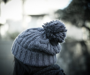 hat, winter, and photography image