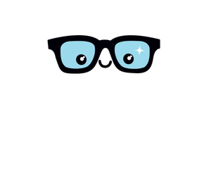 glasses, smile, and sweet image